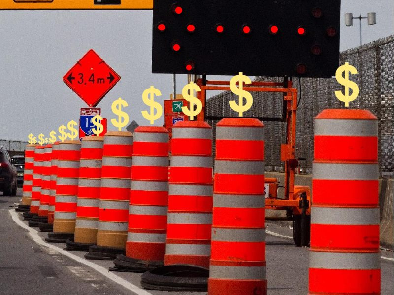 montreal-traffic-pylons