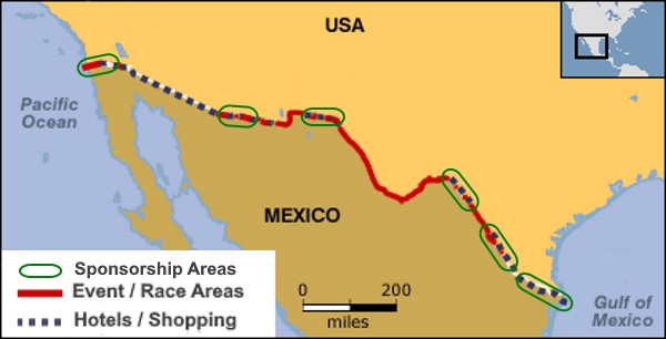 Trump US Mexican border wall who pays