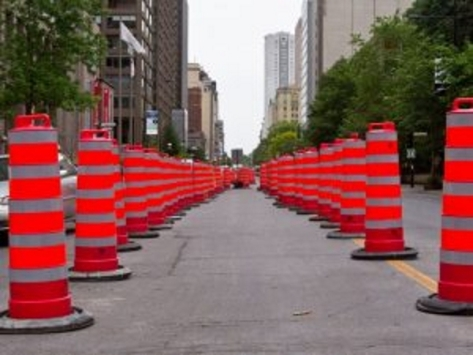 montreal-traffic-pylons
