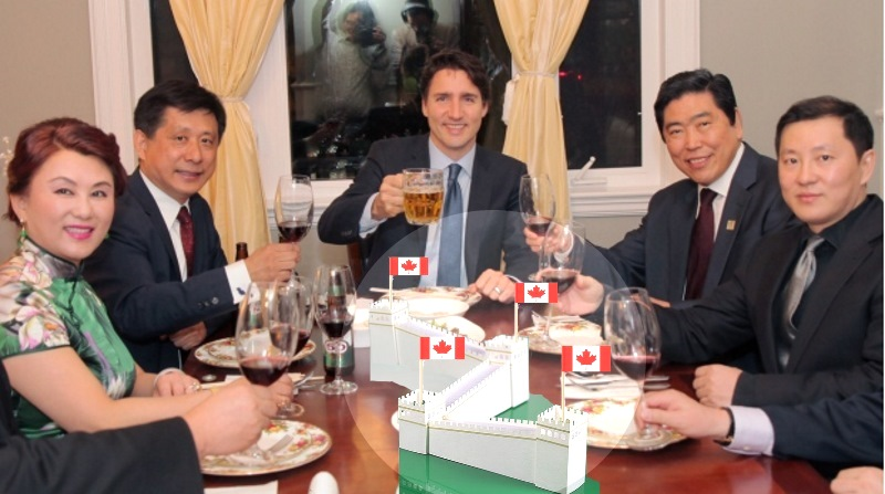 justin trudeau- meets chinese-leaders