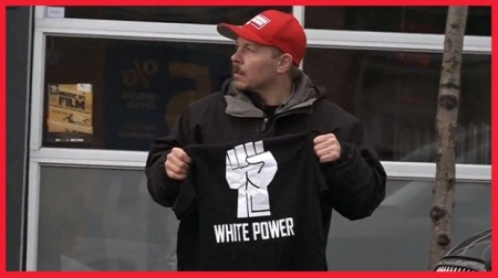 cbc-white power t-shirts