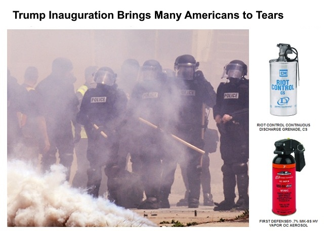 donald-trump-tear-gas protesters