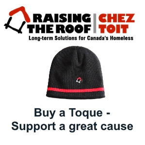 Rasing the Roof Charity - Buy a toque!