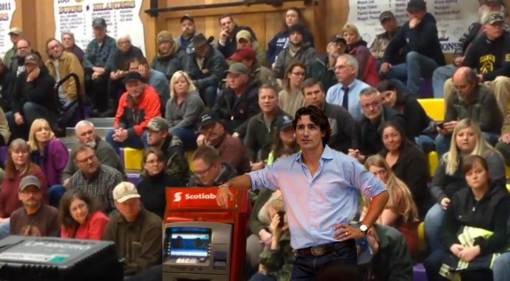 justin trudeau-town-hall