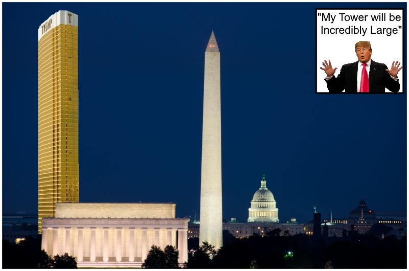 President trump-statue