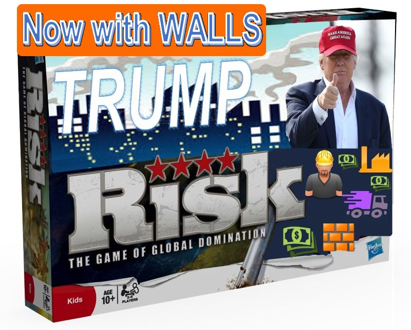 president trump risk game