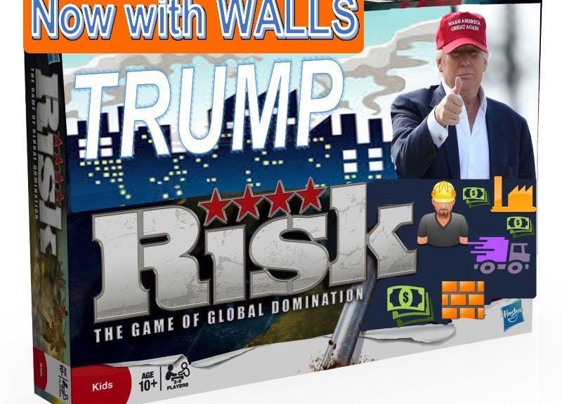 president trump risk game