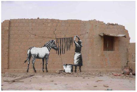 street-art-zebra
