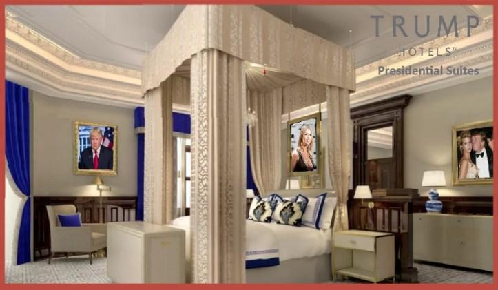 trump-presidential-suite-bedroom