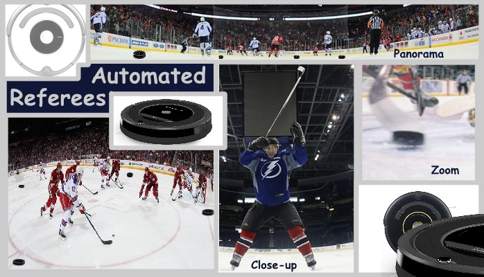 NHL Hockey Auto Referees