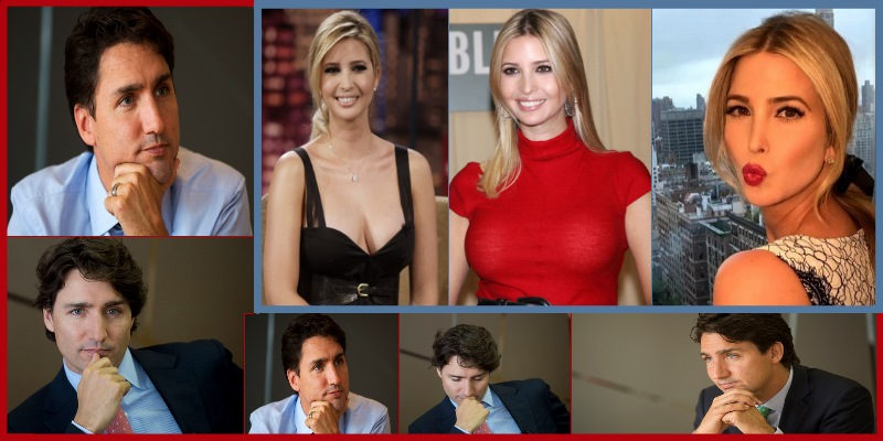 Ivanka Trump Justin Trudeau attraction