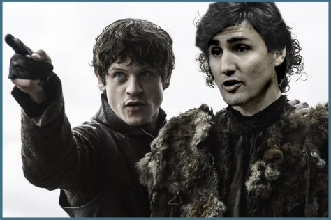 Justin Trudeau Game of Thrones