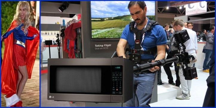 KellyAnne Conway SNL Microwave Camera