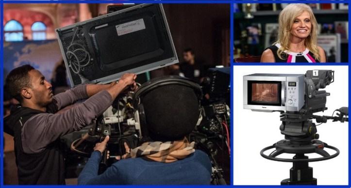 Microwave cameras KellyAnne Conway SNL