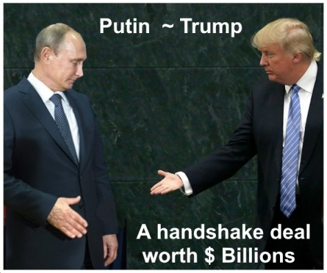 Russia-gate could make Trump and Putin $billions