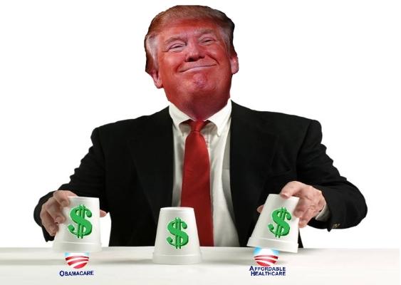 Trump Obamacare scam