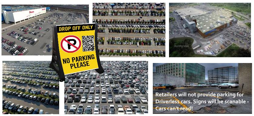 Autonomous Driverless car parking