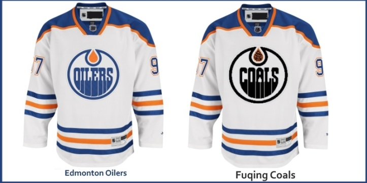 Chinese Hockey Edmonton Oilers Jersey
