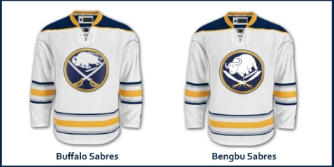 Chinese Hockey Buffalo Sabres Jersey